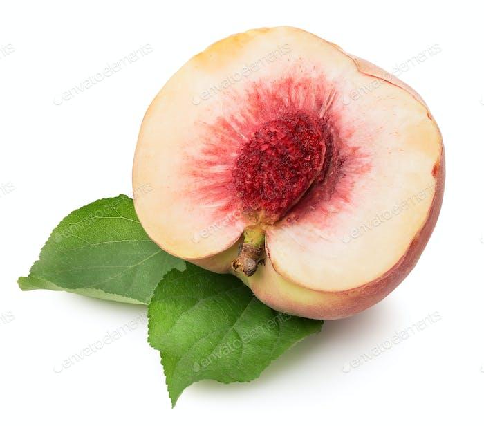 Sweet chopped peach