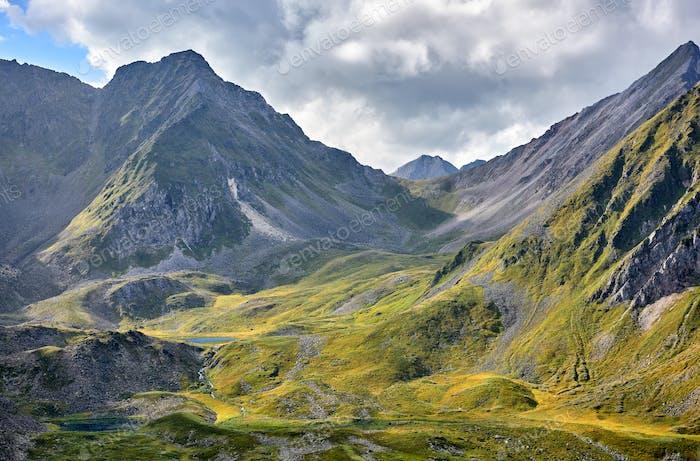 Alpine Tundra and Lakes