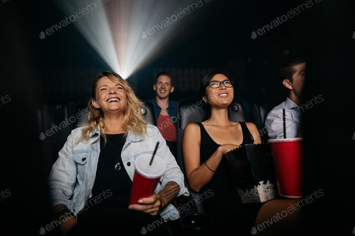 Group of people in theater