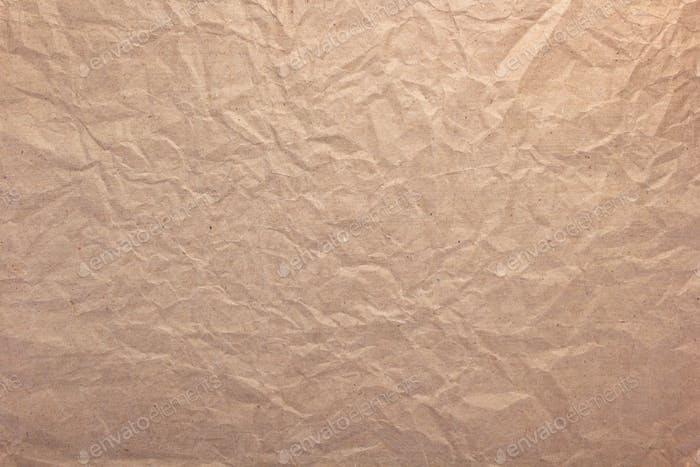 wrinkled or crumpled paper as background