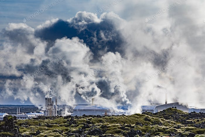 Geothermal Power Plant Iceland IS EU