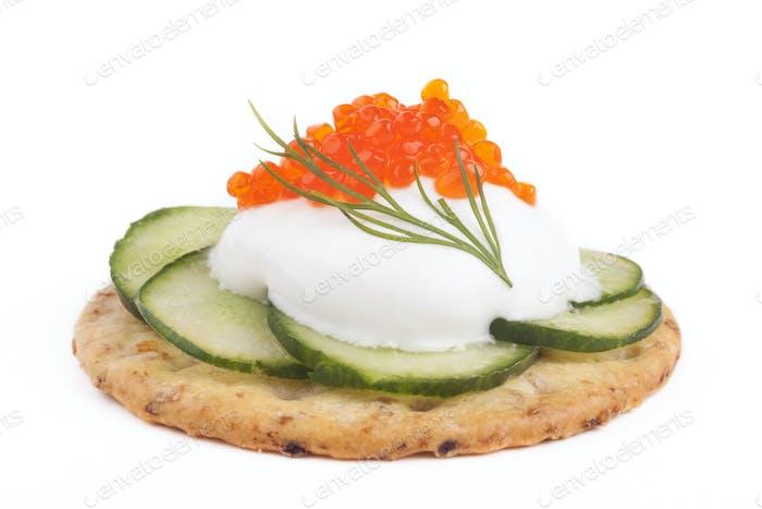Crecker und Kaviar