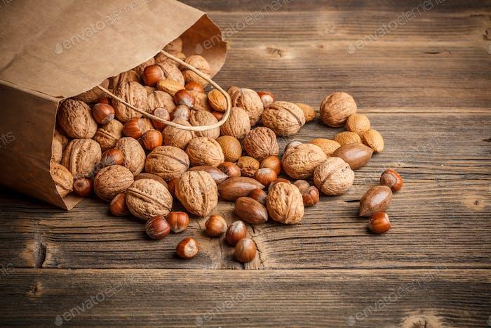 Hard shell nuts