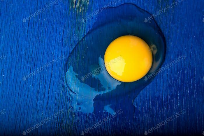 Zerbrochenes Ei.