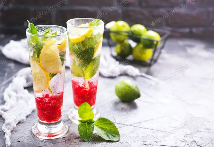 cold fruit drink