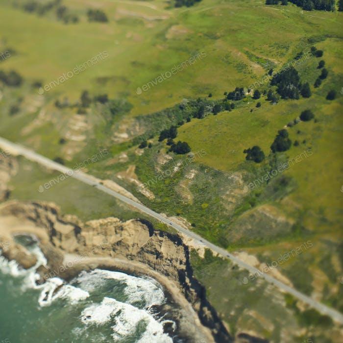 Coastal Hills and Cliffs
