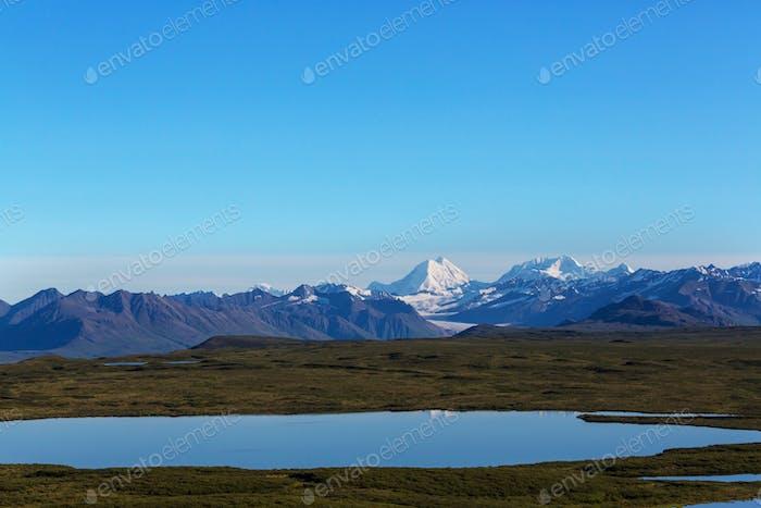 Berge in Alaska