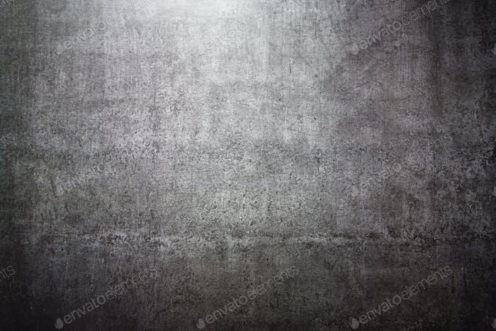 Flat lay grey stone background