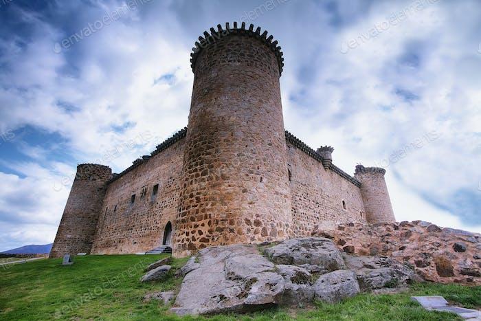Roman castle in El Barco de Avila