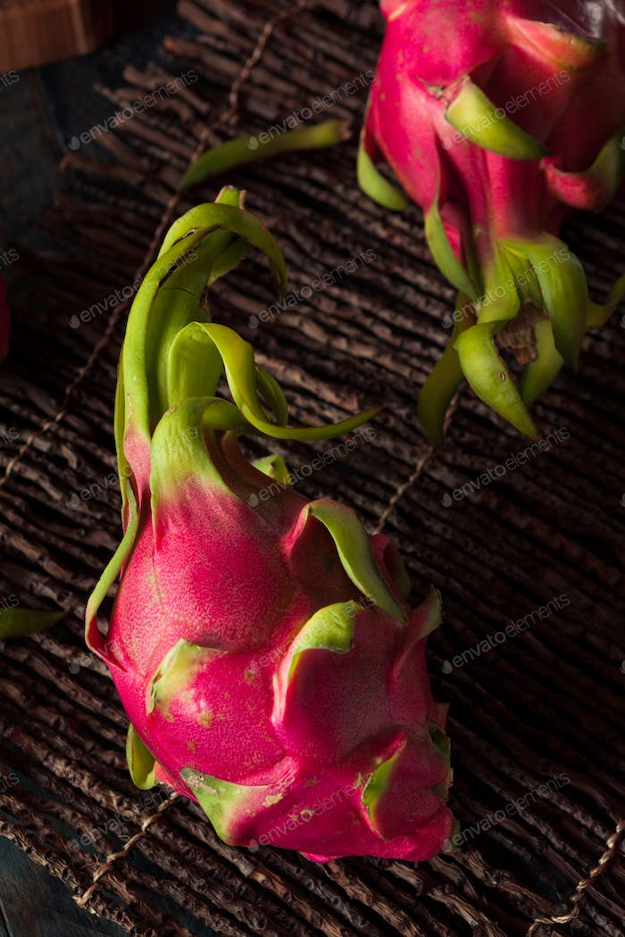 Raw Organic Dragon Fruit
