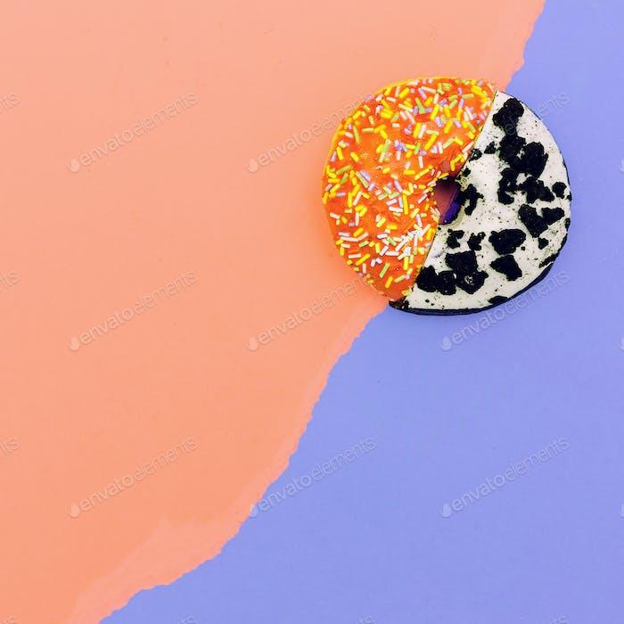 Donut Mix eat me minimal design creative art