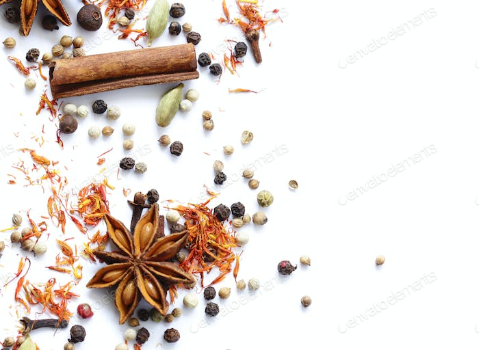 Background of Various Spices