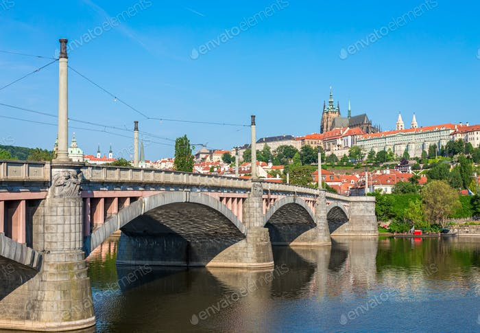 Manes Bridge in Prague