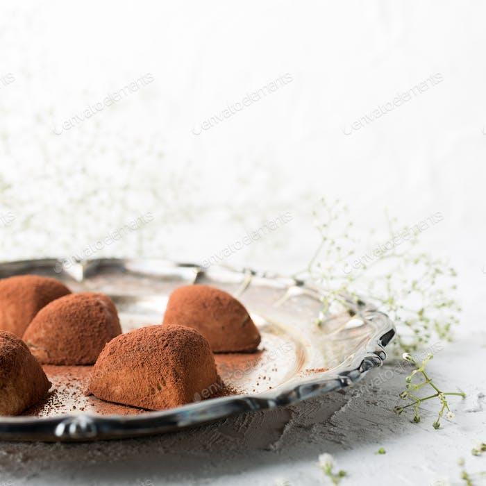Handgemachte Bonbons Tiramisu