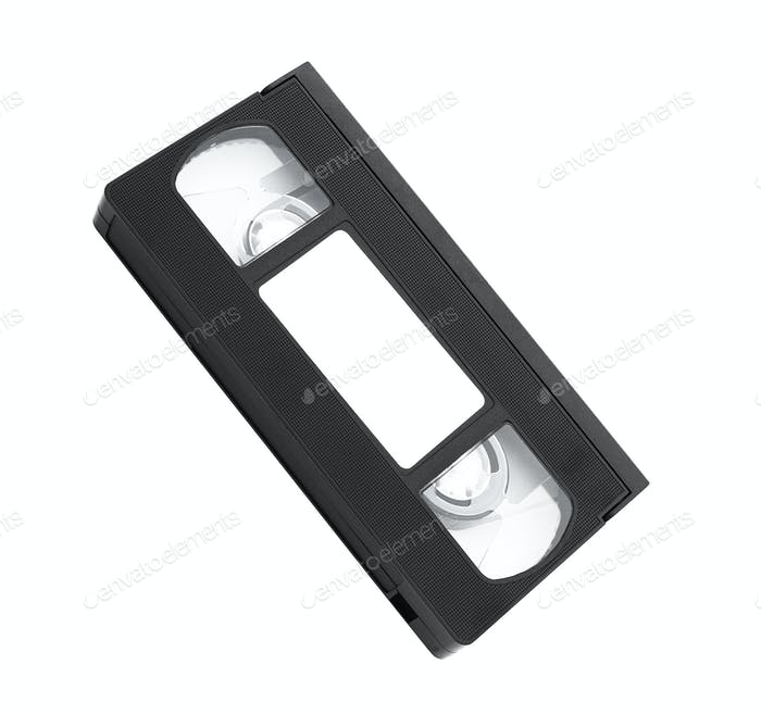 Old video cassette tape