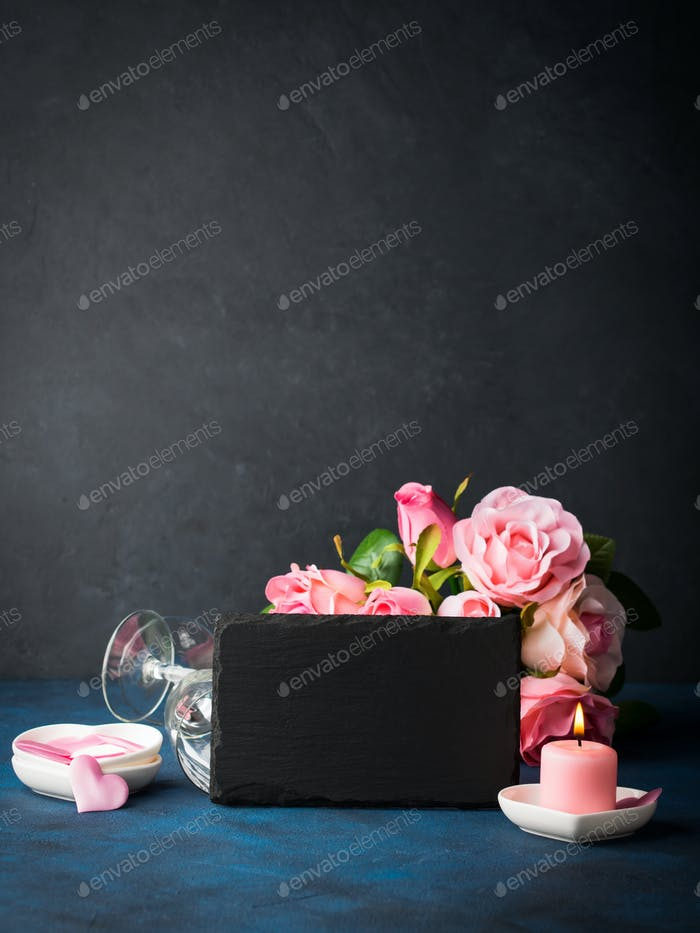 Valentine's day concept and greeting card
