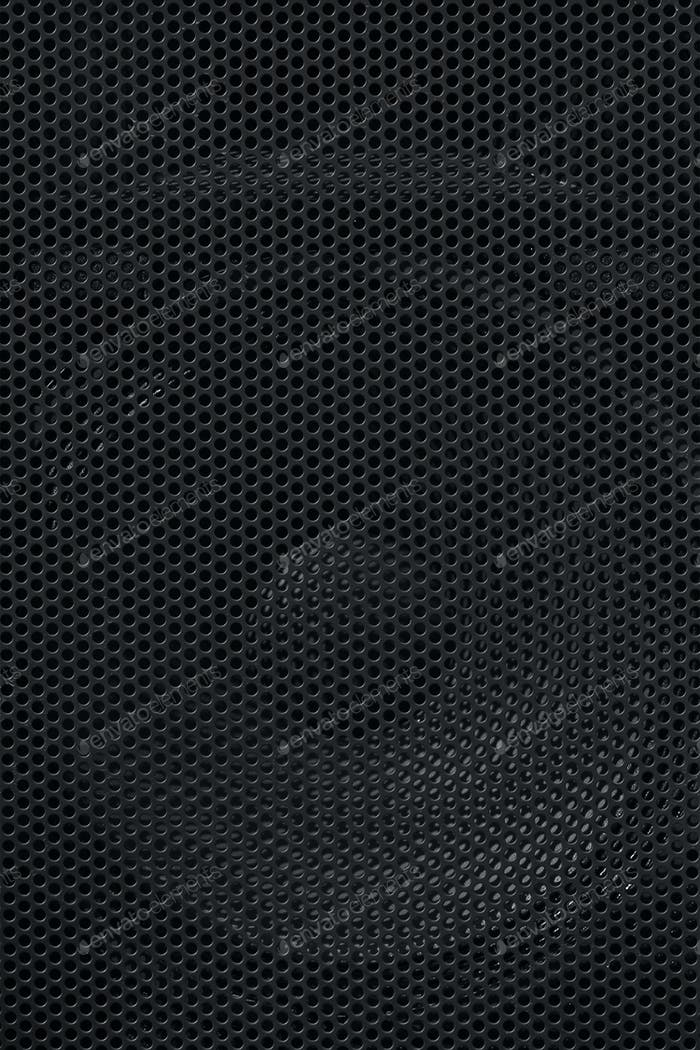 Black honeycomb background