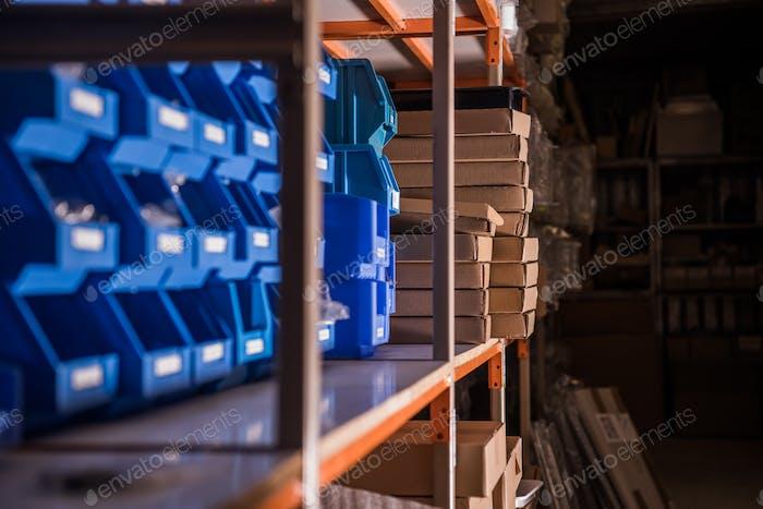 Retail Store Warehouse