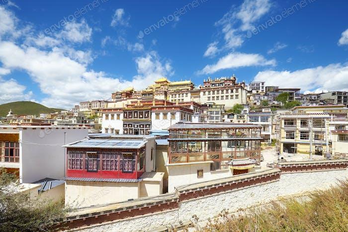 Songzanlin Monastery, Yunnan, China.