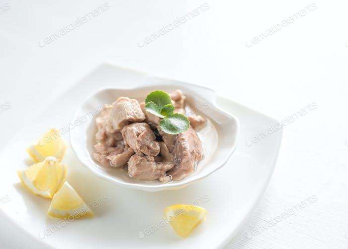 Codfish liver