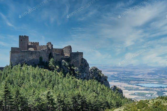 Castle of Loarre , Spain
