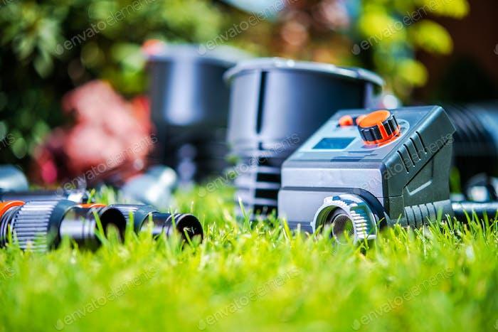 Gartenbewässerungssystem