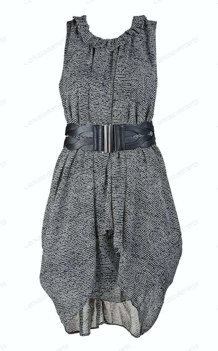 gray and stylish women's dress