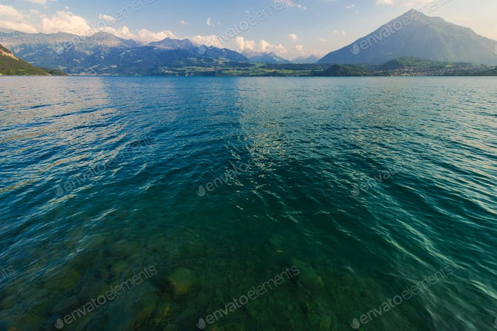Switzerland Scenic Lake Thun