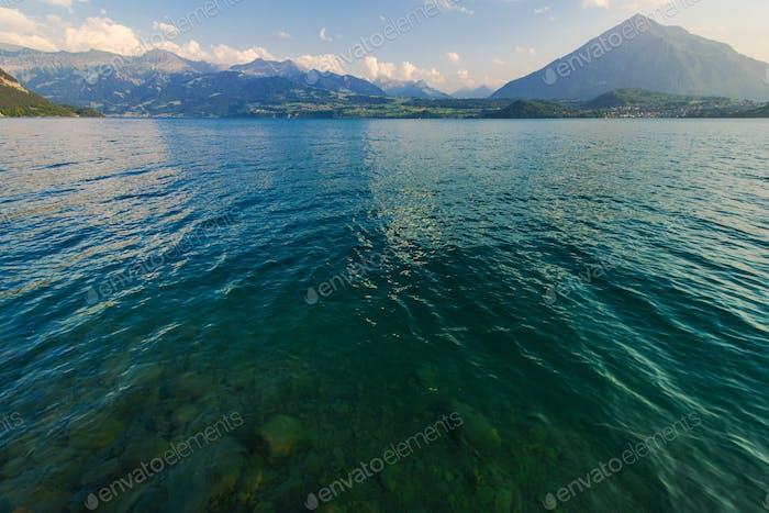 Schweiz Scenic Thunersee