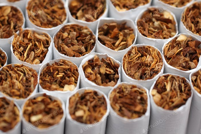 Cigarettes macro