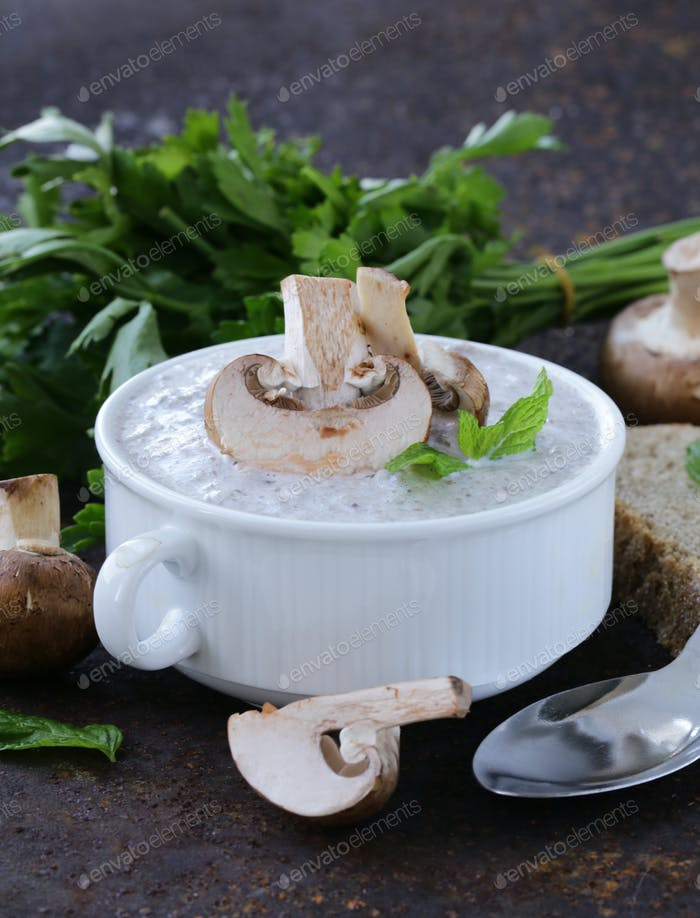 Mushroom Soup Puree