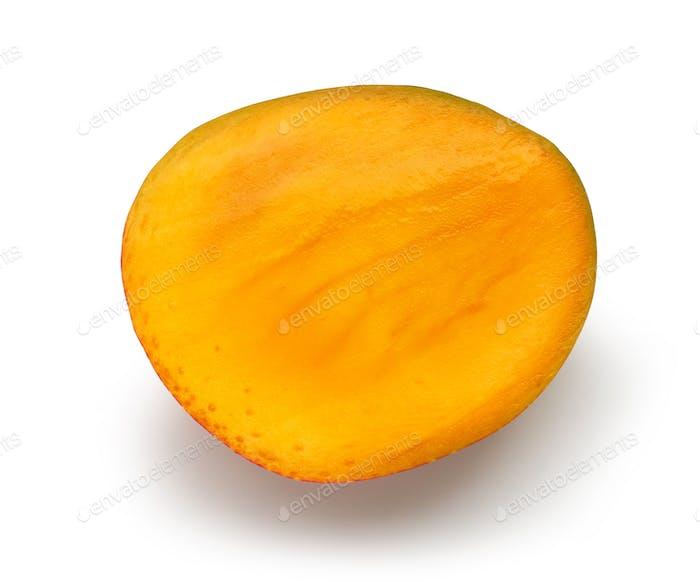 Hälfte der Mangobrucht