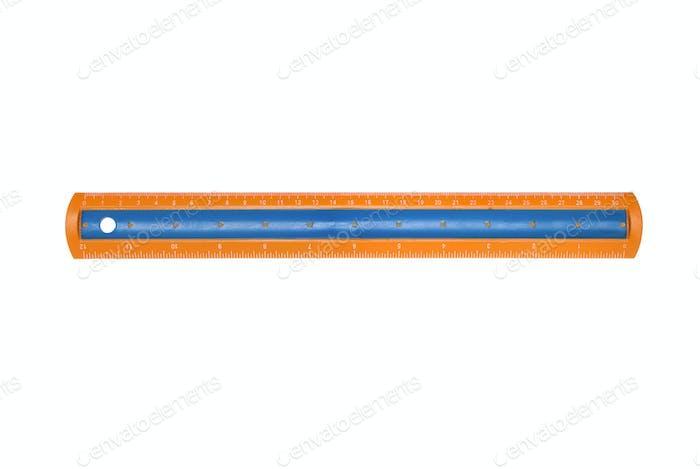 New plastic ruler