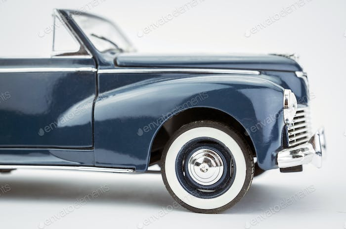 Car vintage isolated on white background