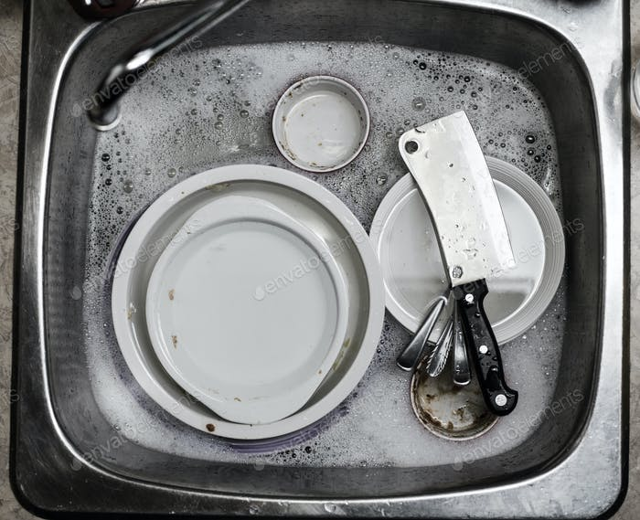 It's time to do the Dishes !