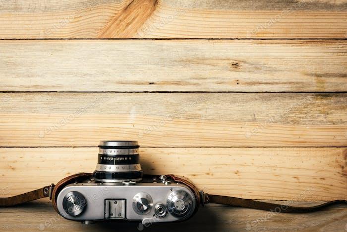 Alte Vintage-Fotokamera