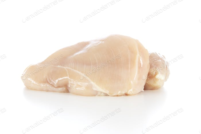 Chicken Breast Isolated