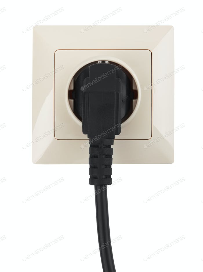 outlet on the wall