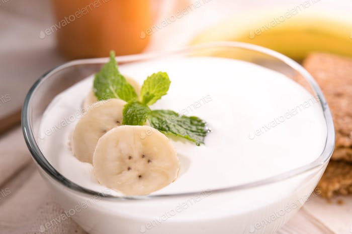 Yogurt food