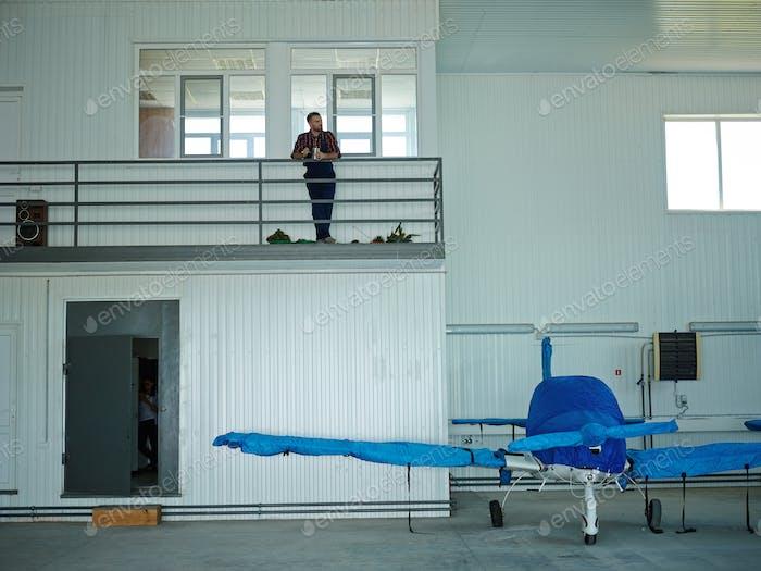Maintenance hangar