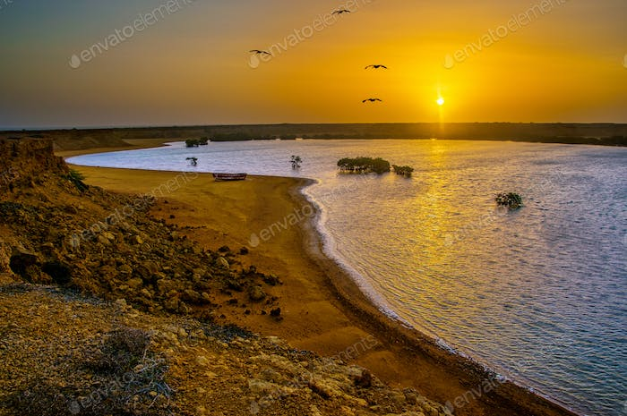 Punta Gallinas Sunrise