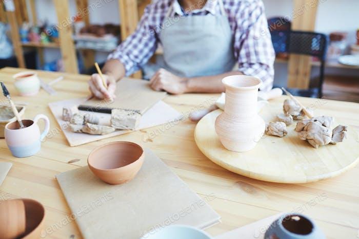 Clay creativity