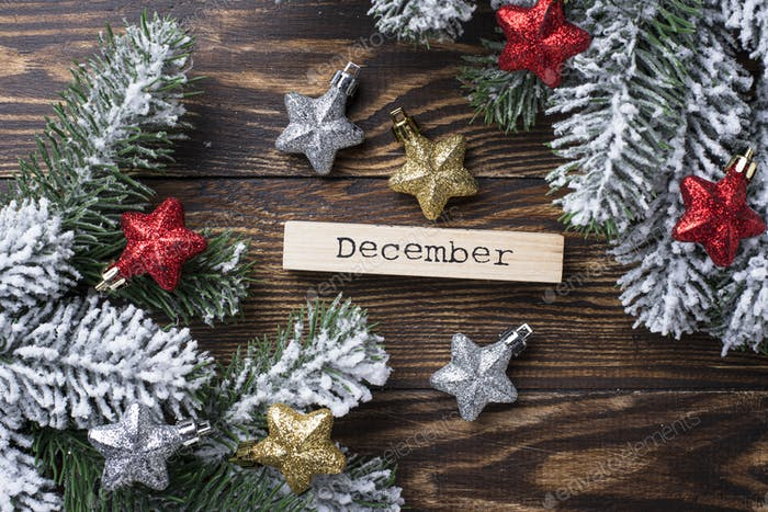 Navidad o Año Novedad Fondo festivo