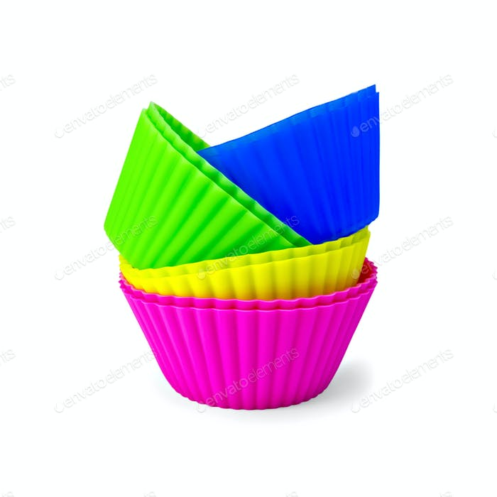 Molds for cupcakes