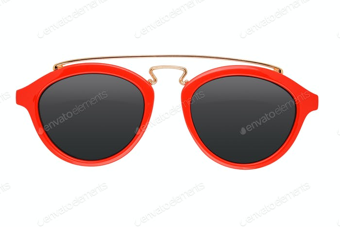 Red kids sunglasses