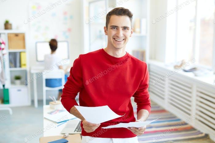 Guy in office