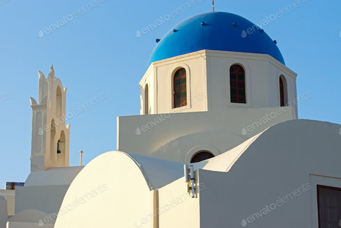 Beautiful church in Oia, Santorini