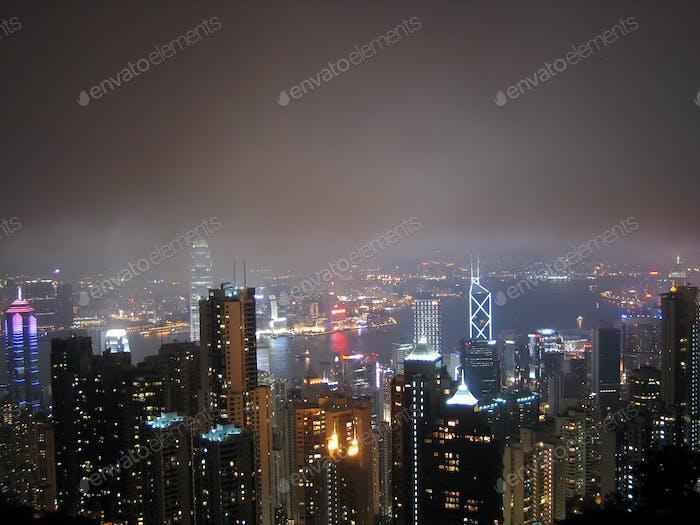Victoria Peak, Hong Kong, Asia