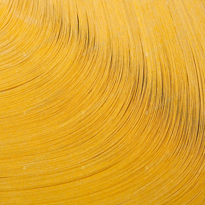 Abstract view of yellow pages book