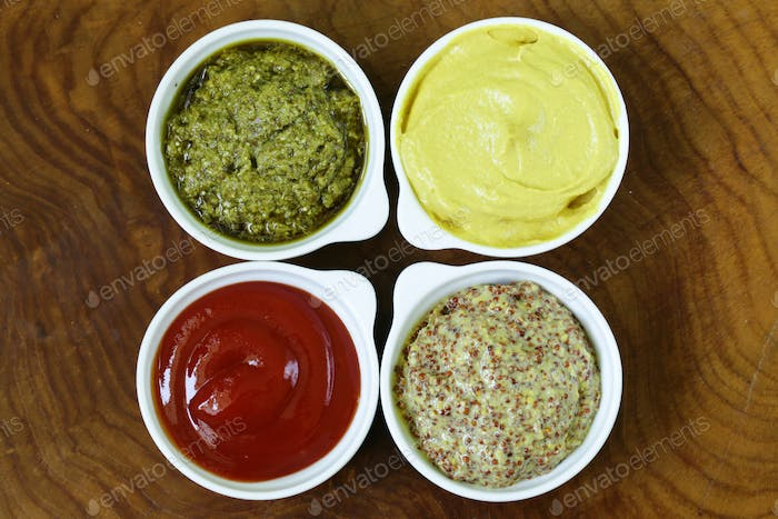 Different Types Of Sauces